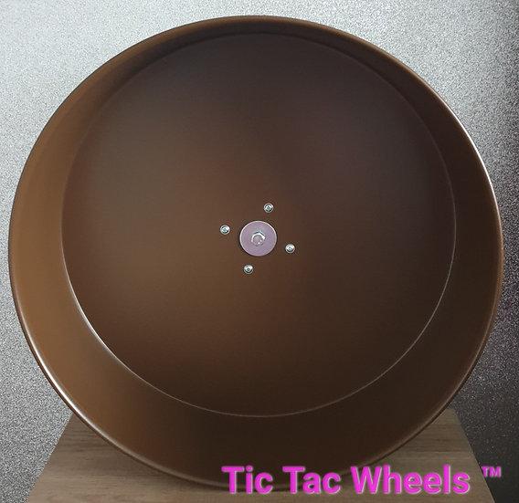 """12"""" Metal Wheel BROWN"""