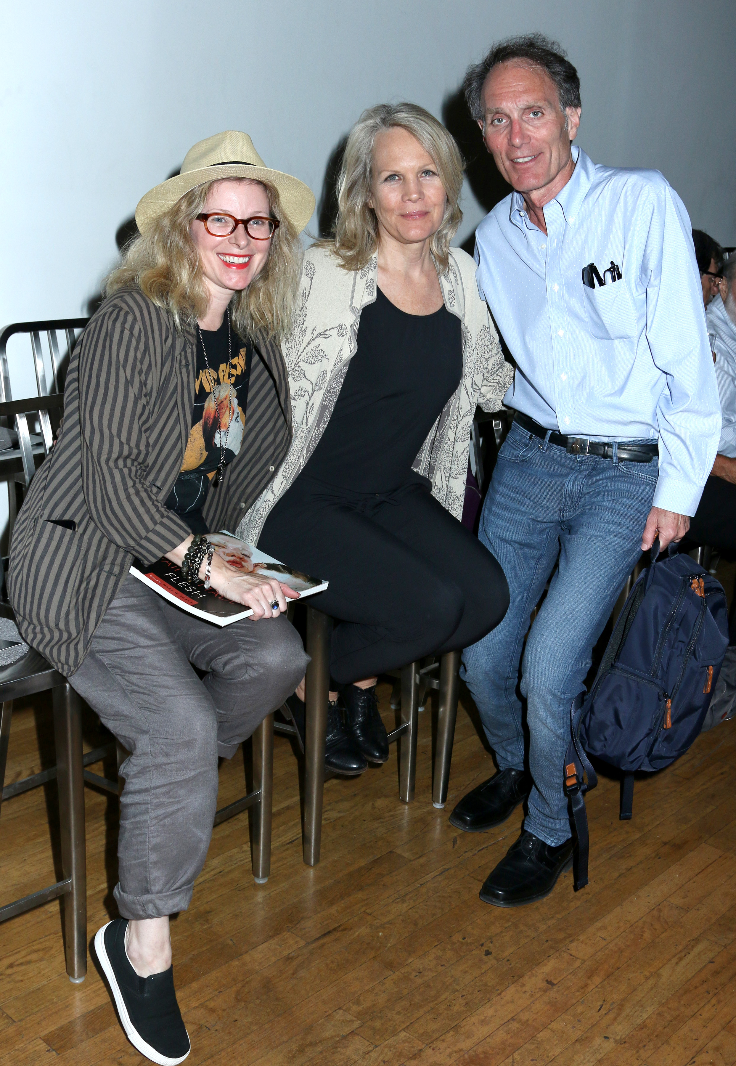 Director Cady McClain with photographer/actor Donna Svennevick and Director Christopher Goutman