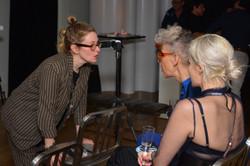 Director Cady McClain with Marja Samsom and DeBran Treu