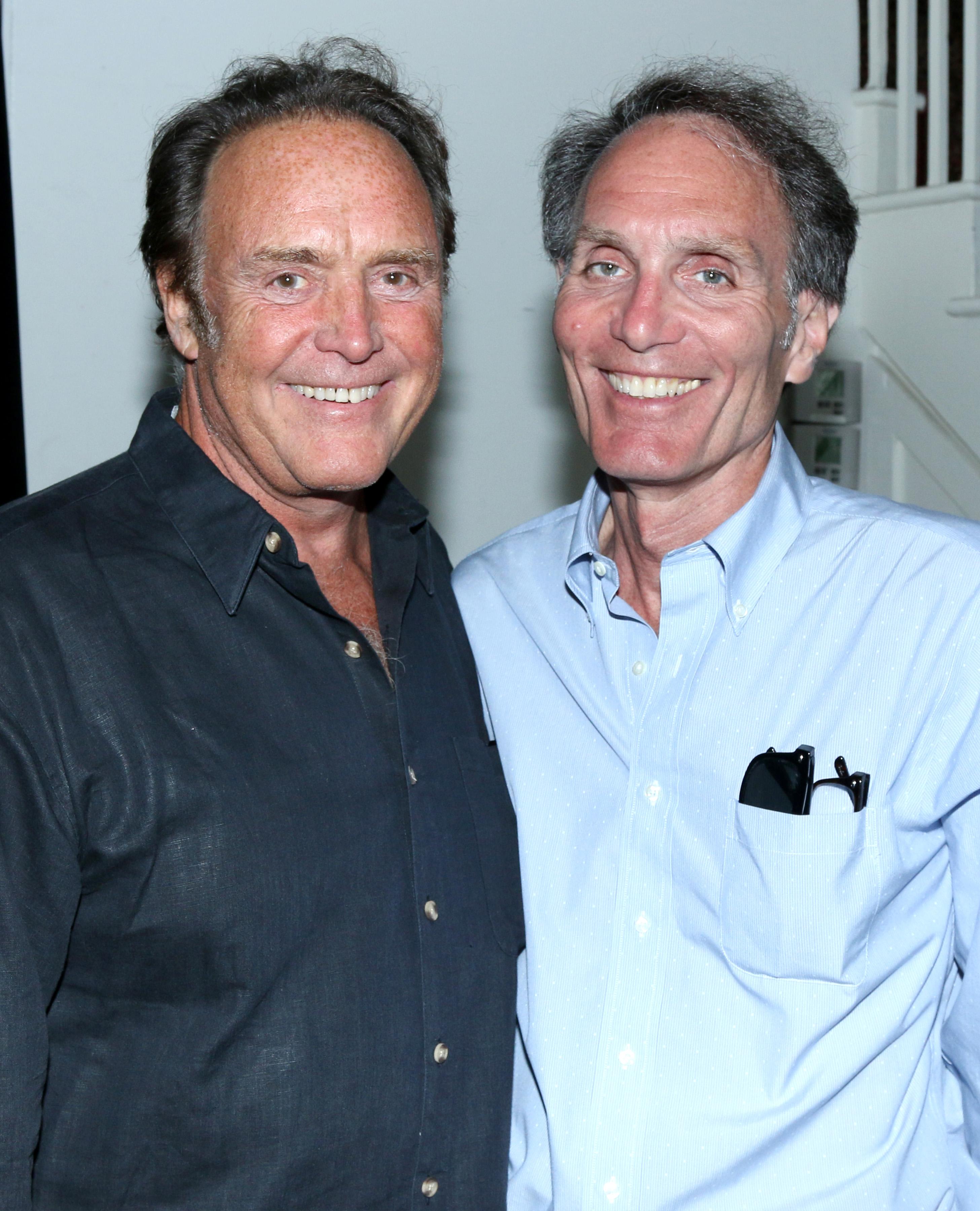 Actor/Artist James Kiberd with Director Christopher Goutman