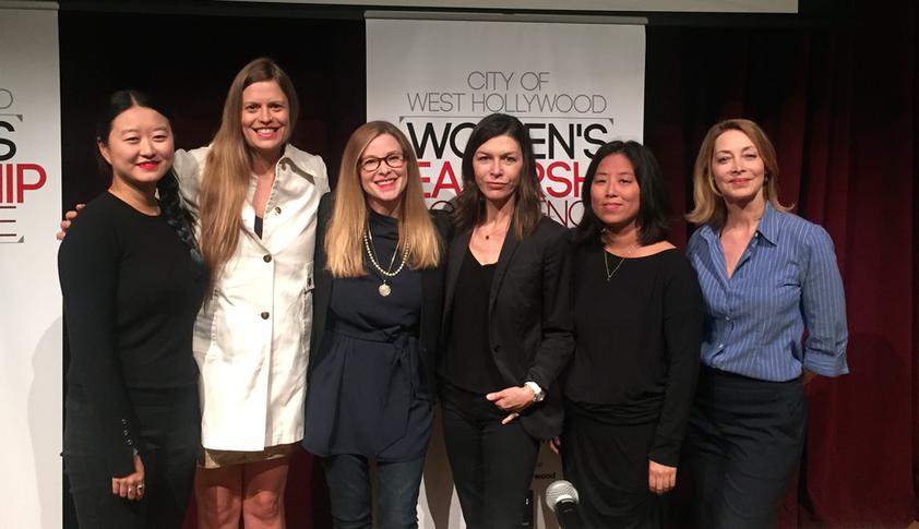 WEHO Women and Leadership Panel
