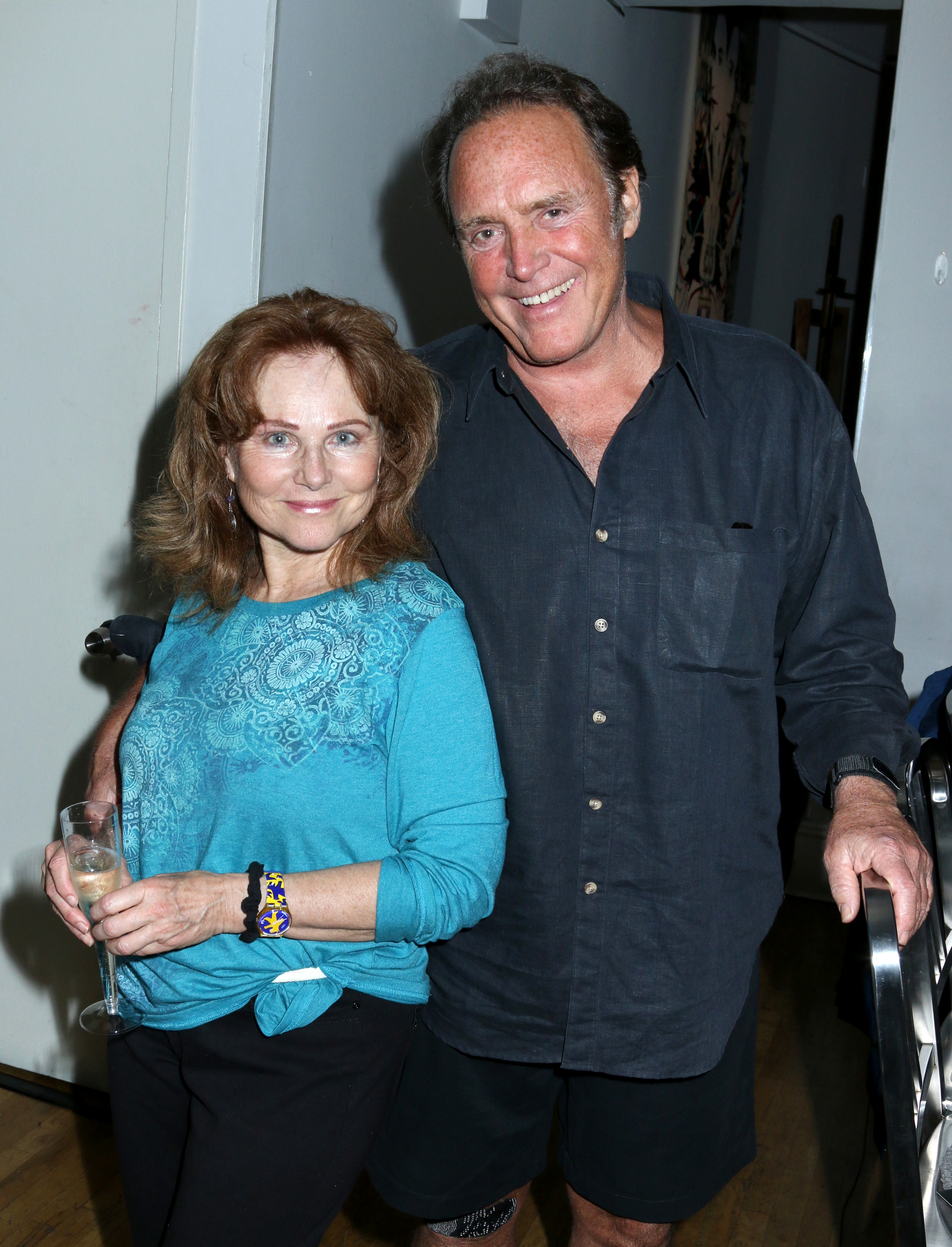 Actress Susan Keith and Actor/Artist James Kiberd