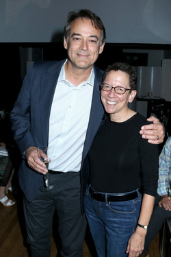 Actor Jon Lindstrom and Producer Carole Shure