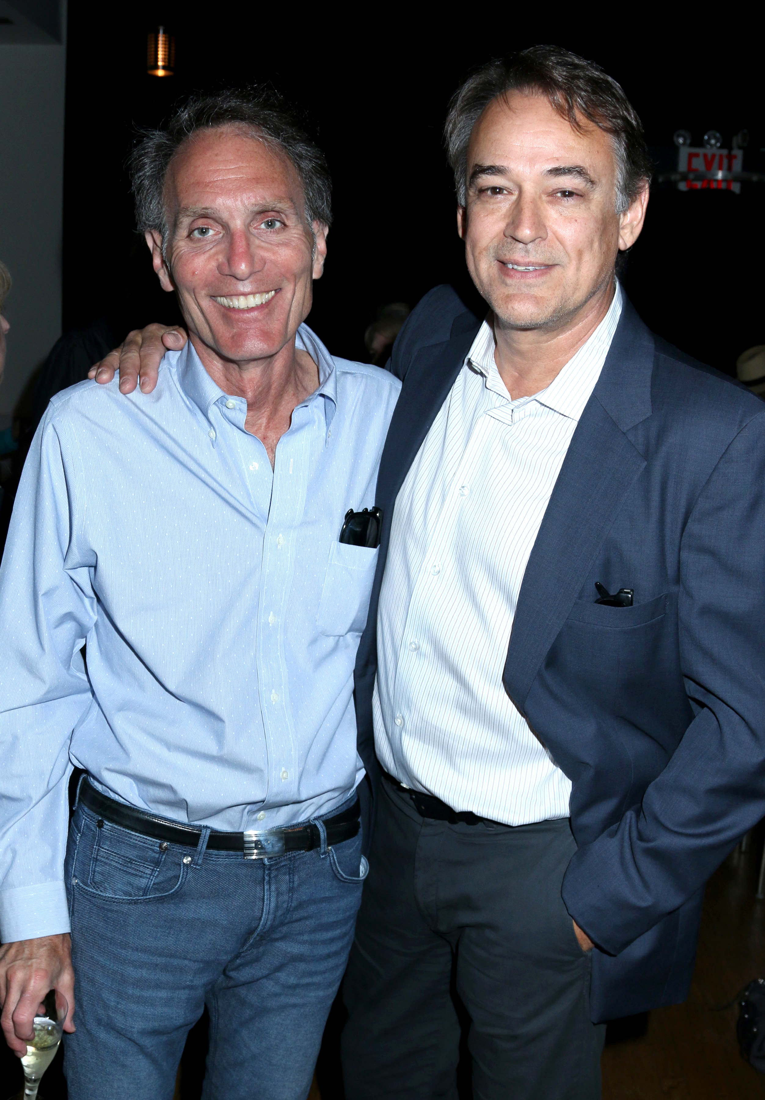 "Director Christopher Goutman with Actor/Director Jon Lindstrom (""True Detective"")"