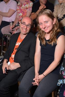 Mark Fleming and Joanna Kurylo