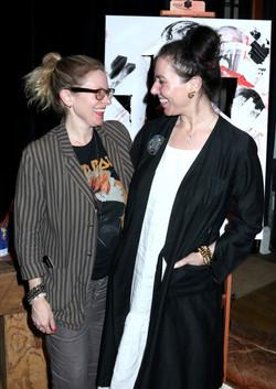 Director Cady McClain and Producer Amanda Quinn Olivar