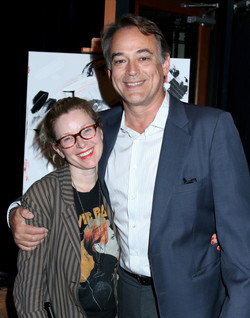 """Director Cady McClain with husband Jon Lindstrom (""""True Detective"""")"""