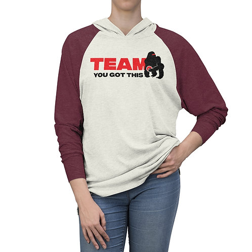 Team You Got This Unisex Tri-Blend Hoodie
