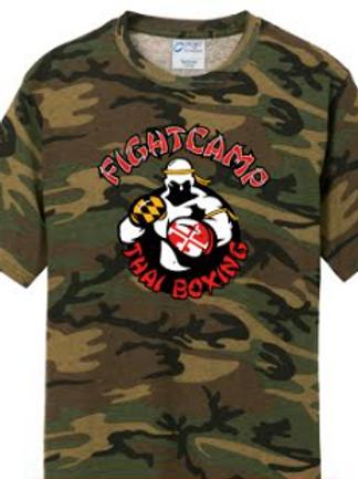 Camo Academy T-Shirt - R.U.A Fighter