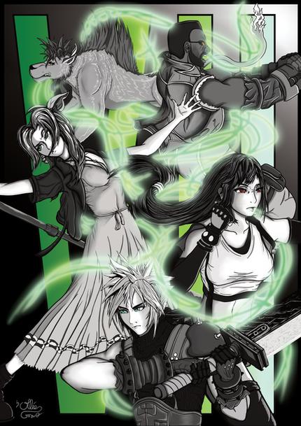 Final Fantasy 7 Remake Fan Art Poster.png