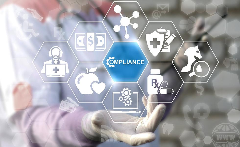 Healthcare Compliance. Medicine observat