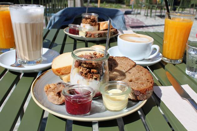 Frühstückspuzzle – Farel Bistro, Biel