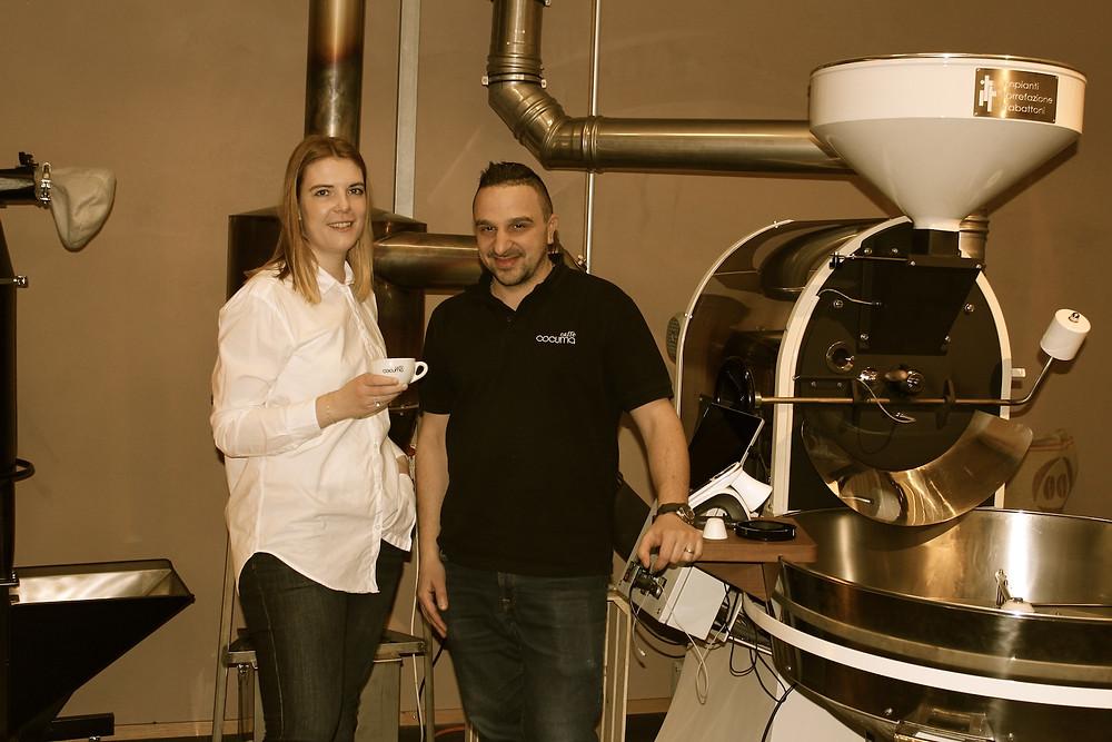 Rahel von Brunch-Café und Fabio von Cocuma Caffé