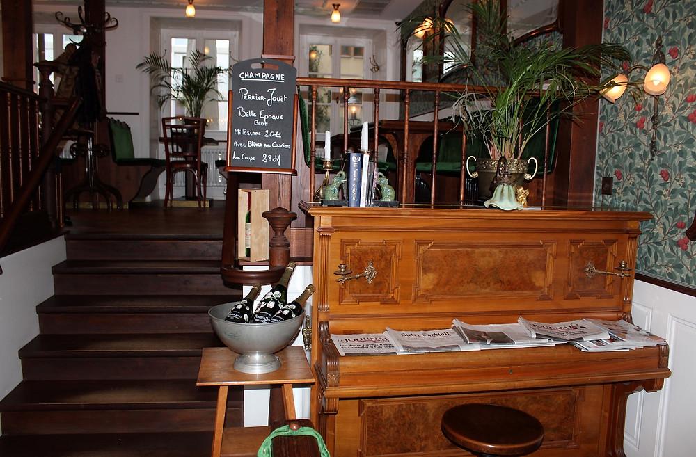 Restaurant Café Perrroquet Vert Innenansicht