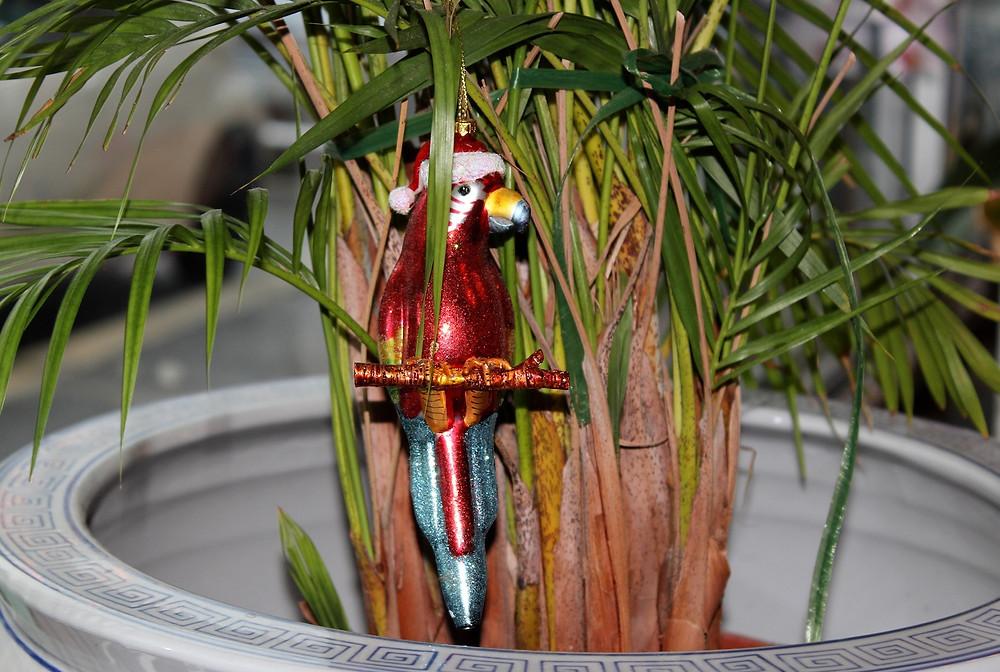 Papagei-Dekoration
