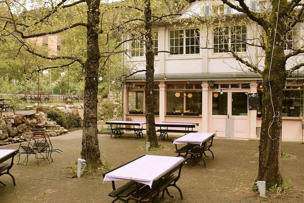 Terrasse Restaurant des Gorges