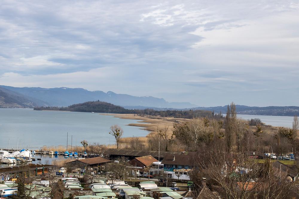 Bielersee, Sicht von Erlach