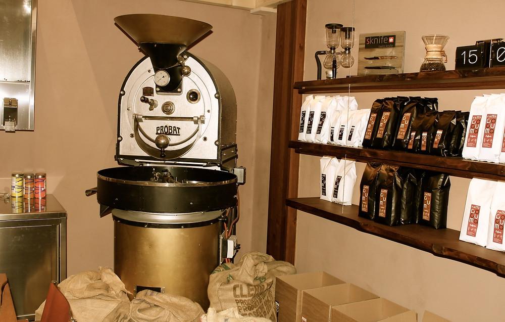 Kaffee-Rösterei