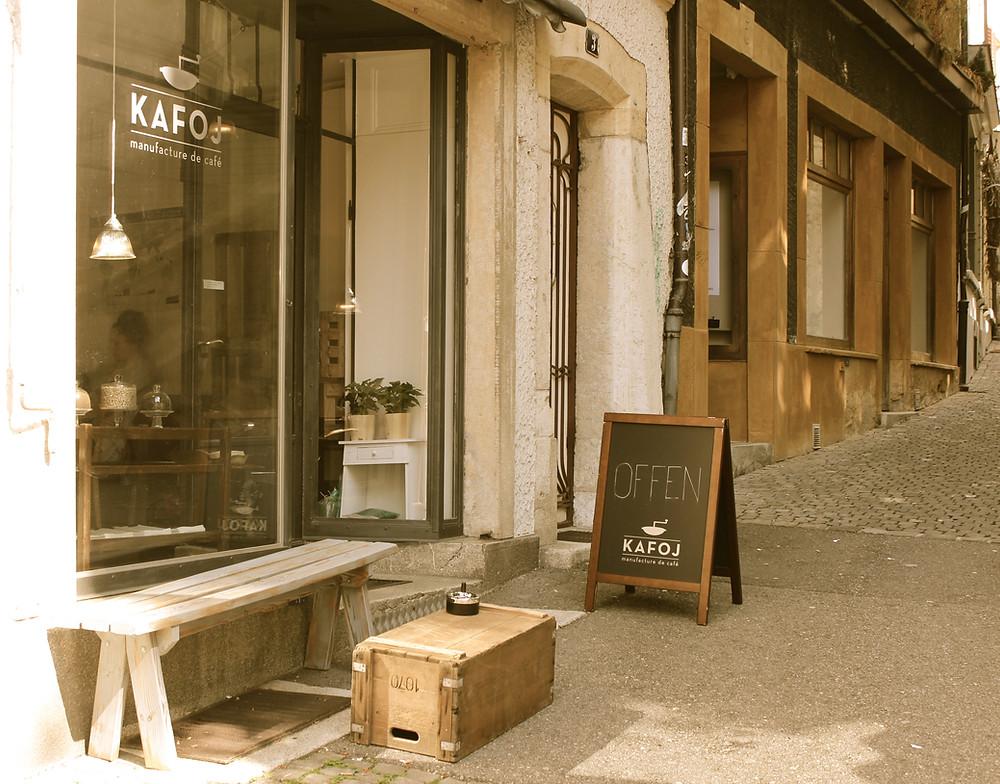 Restaurant Rösterei Kafoj, Biel