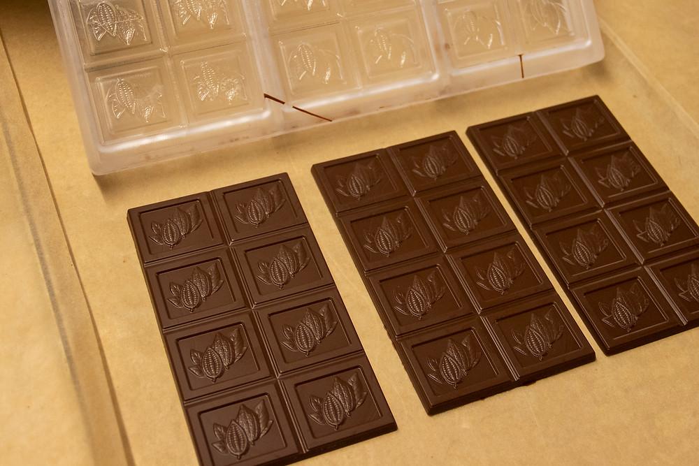Herstellung Tafel-Schokolade