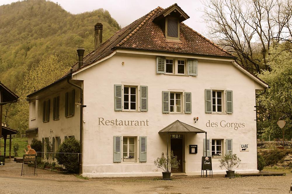 Restaurant des Gorges, Taubenlochschlucht