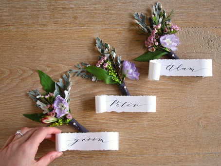 Why Your Wedding Stationery Needs Calligraphy! - Zankyou Article (English Translation)