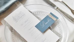 Sparkling Dusty Blue Wedding