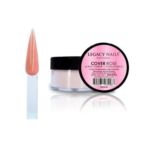 Polvo Acrilico Legacy Nails Cover Rose 15 gr