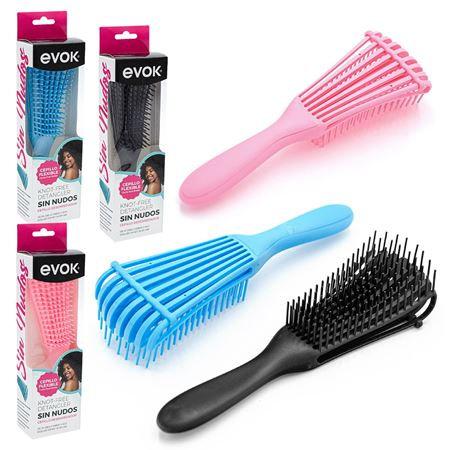 Cepillo desenredante flexible Evok