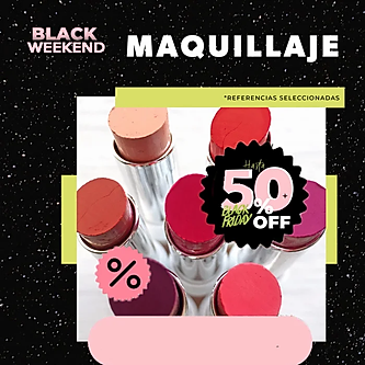 maquillaje banner web black friday Vitú.