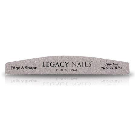Lima Legacy Nails Pro Zebra Edge & Shape 100/100