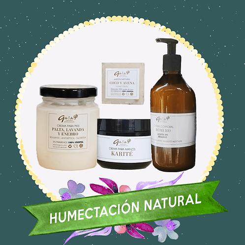 Kit de Humectación Natural - Palta, Coco, Avena, Romero y Manteca de Karité