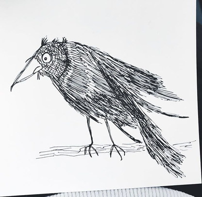 I've got this thing about crows at the m