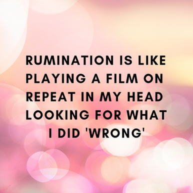 Rumination & how audiobooks help