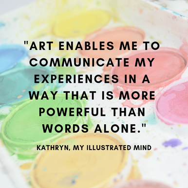 'More powerful than words': Interview with Kathryn from 'my illustrated mind'