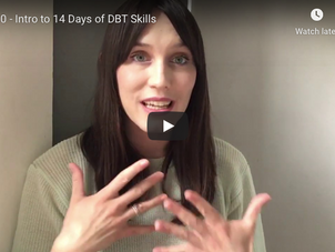14 Days of DBT Skills Videos