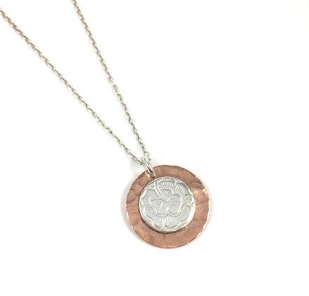 Copper/Vintage Silver
