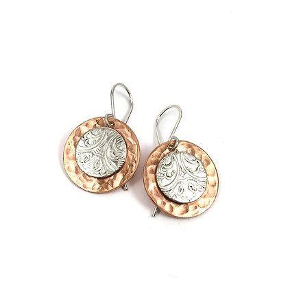 Vintage Silver/Copper