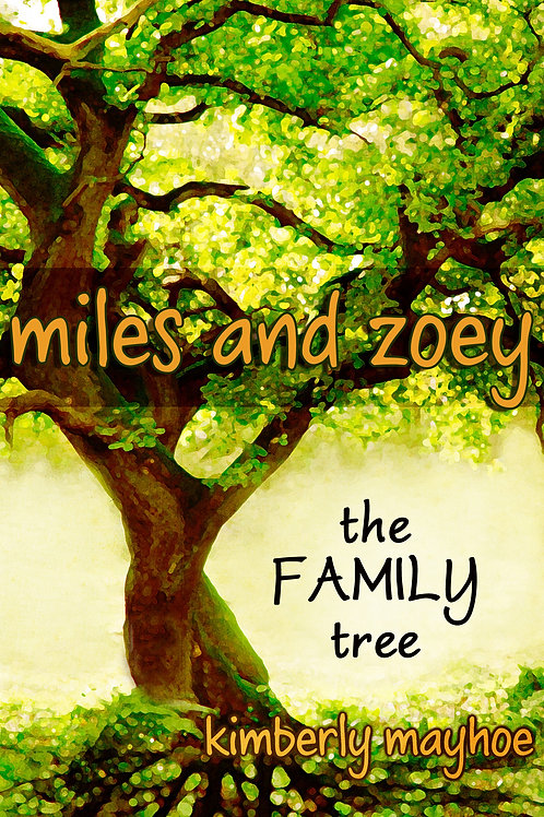 """Miles and Zoey: The Family Tree"" Paperback"