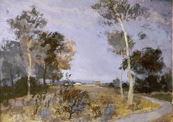 Sussex Landscape, Gyula Sajo