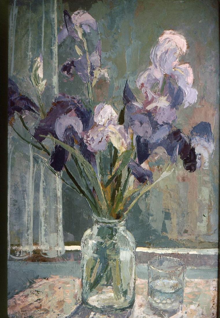 Still Life Iris, Gyula Sajo