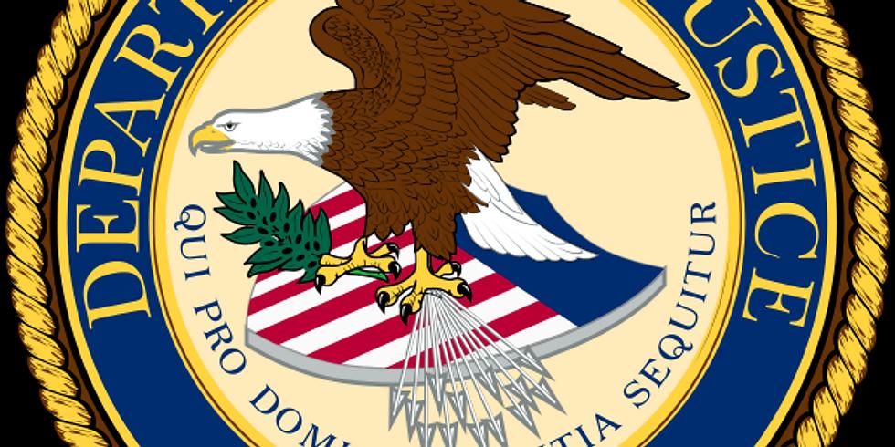 Department of Justice Status Update