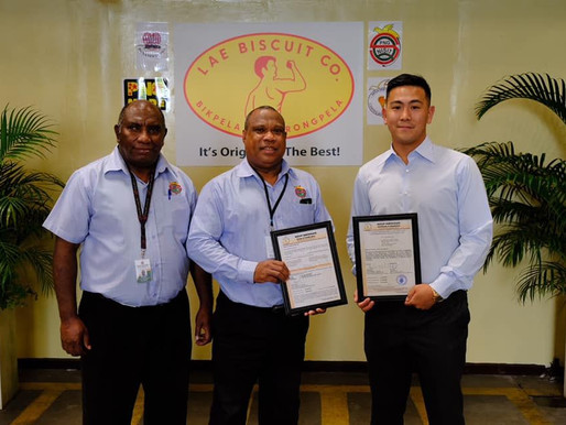 Lae Biscuit Company Meets International Safety Measures