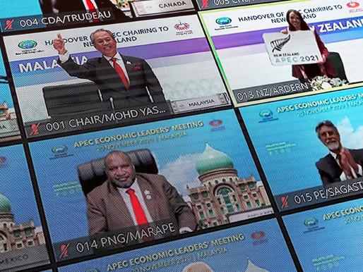 PM Joins Virtual 2020 APEC