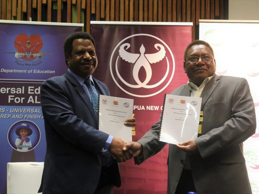 Bank of PNG signs MoU with CEFI and the Department of Education