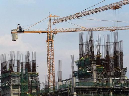 Construction Activities Decrease