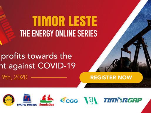 Timor-Leste's official Oil & Gas event goes online