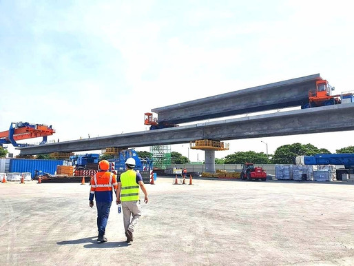 LRT Extension Project Now 50% Complete