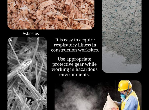 Dangers of Respiratory Disease at Construction Sites