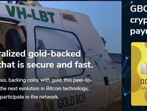 Gold BCR (GBCR): Blockchain Technologies with Junior Mining Companies